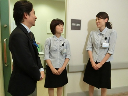 医療福祉連携室