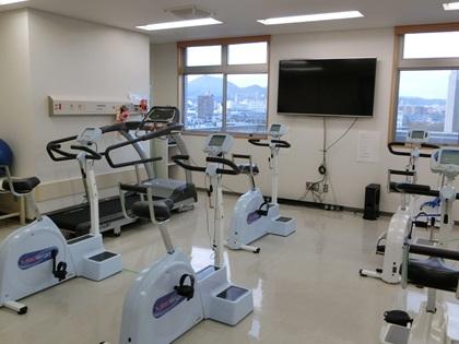 心臓リハビリテーション室