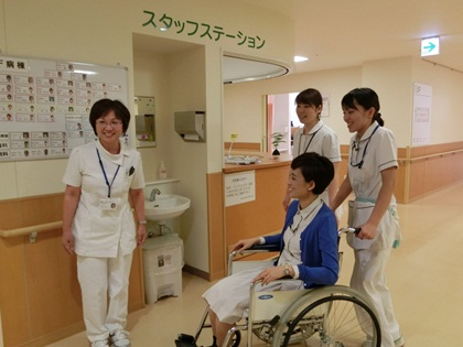 吉田さんが入院