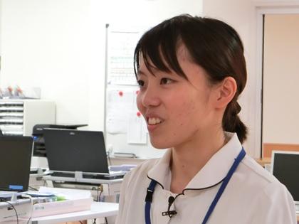 秋山看護師