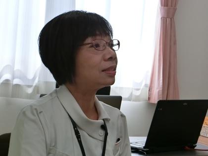 多田隈看護部長
