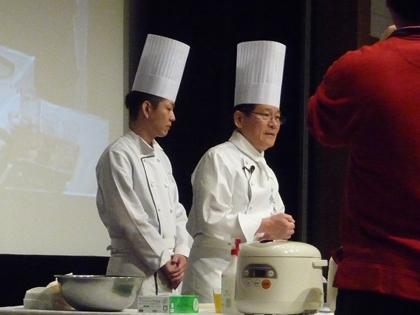 マタニティ料理講習会