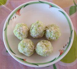 春キャベツの豆腐肉団子