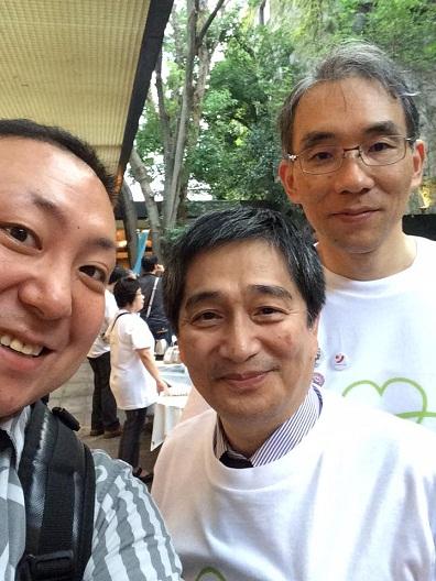 高野先生、橋本先生