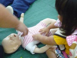 赤ちゃんのマネキンで