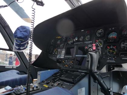 パイロット席