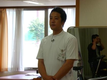 運動療法士 宮川さん