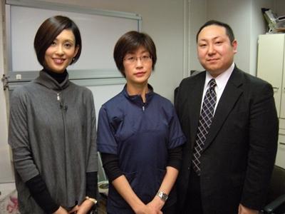 福永先生と吉田恵理さん