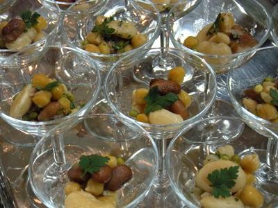 豆サラダのオードブル
