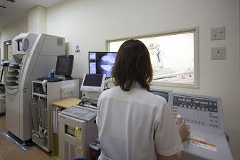 放射線科検査室