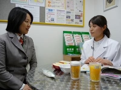 栄養管理士の置田さん