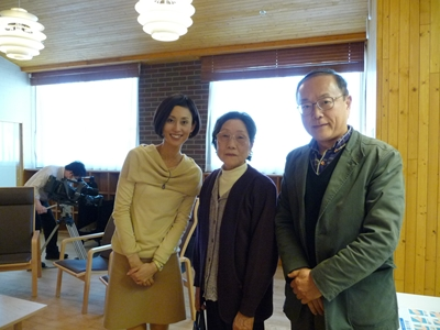 坂本さんの奥様と息子さん