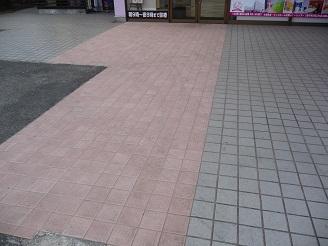 ピンクのタイルの秘密