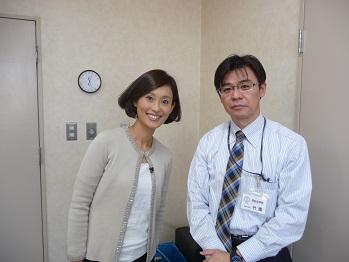 吉田さんとツーショット