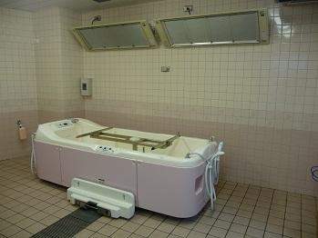 配慮のある浴室