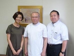 松田院長と3ショット