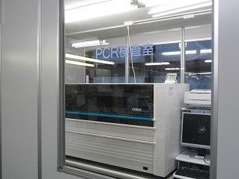 PCR検査室