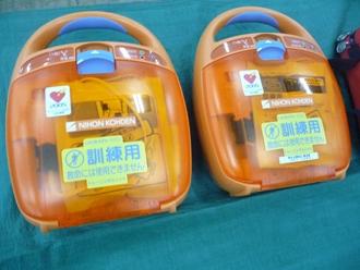 訓練用AED