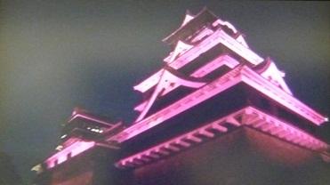 闇夜の熊本城