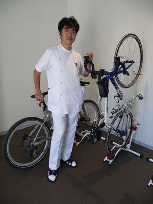専用の自転車置き場