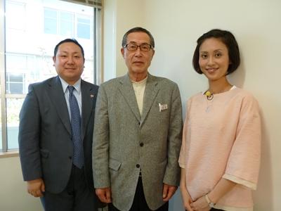 堀田理事長と3ショット