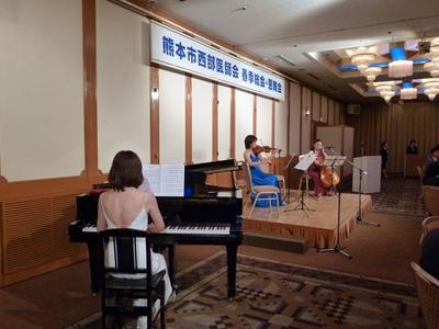 弦楽四重奏とピアノ