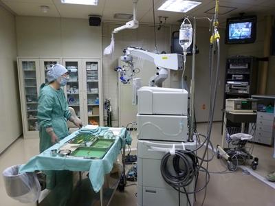 手術室の様子