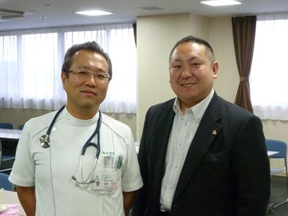 鶴田克家先生