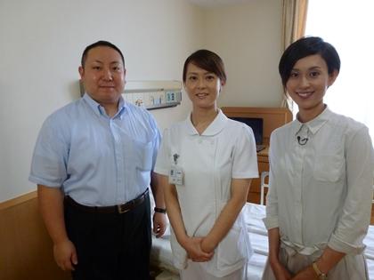 看護師の坂倉さん