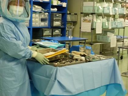 手術で必要な機器