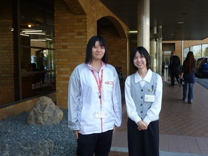 藤井さんと柳浦さん
