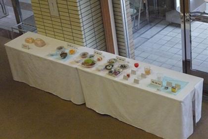 模型の展示