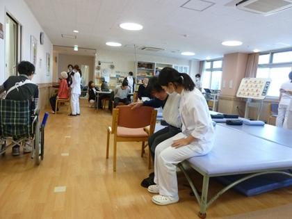 入院でのリハビリ