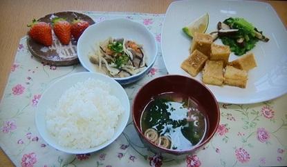 野菜たっぷりの料理