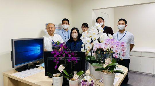 熊本泌尿器科病院様ありがとう【お花プロジェクト】