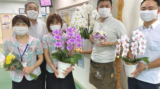 東熊本第二病院様ありがとう【お花プロジェクト】