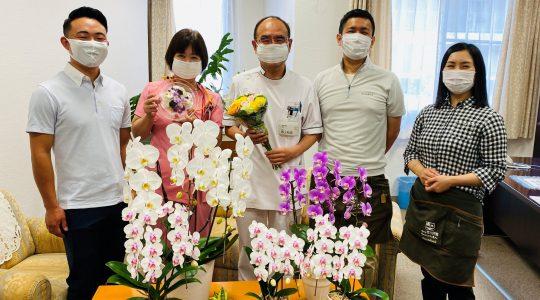 御幸病院様ありがとう【お花プロジェクト】