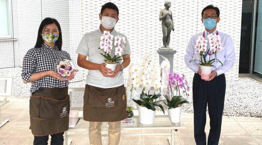 宇城総合病院様ありがとう【お花プロジェクト】