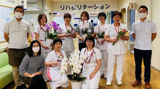 水前寺とうや病院様ありがとう【お花プロジェクト】