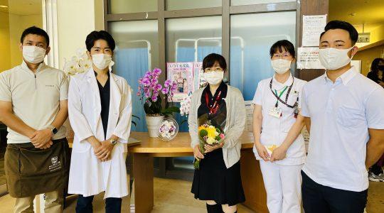 くわみず病院様ありがとう【お花プロジェクト】