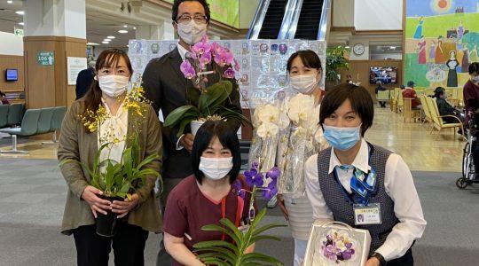 済生会熊本病院様ありがとう【お花プロジェクト】